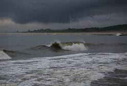 Ostrzeżenie przed burzami. Możliwy sztorm na Bałtyku