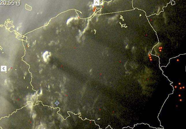 Tajemnicze cumulonimbusy na polskim niebie