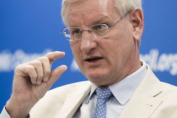 Były szef dyplomacji Szwecji Carl Bildt