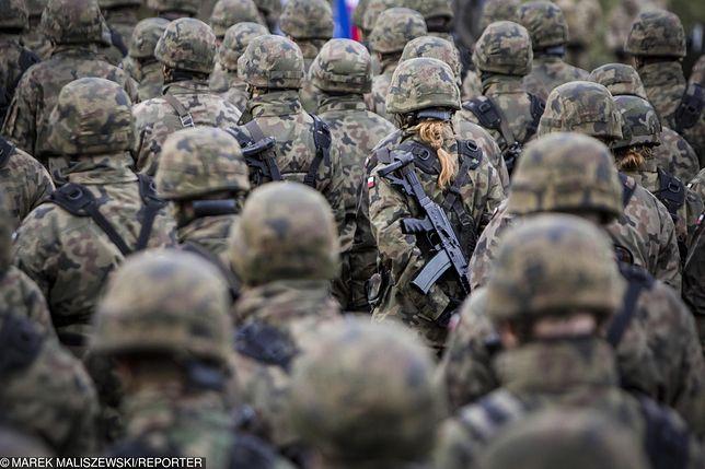 Do zdarzenia doszło na poligonie wojskowym.