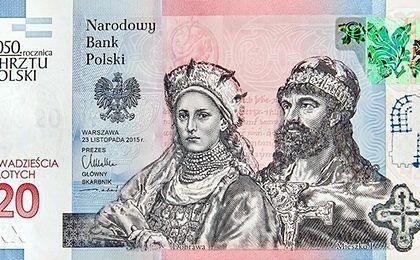 Nowy banknot NBP. Znajdzie się na nim Mieszko I i Dobrawa