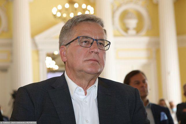 Były prezydent Polski Bronisław Komorowski przebywa pod opieką specjalistów