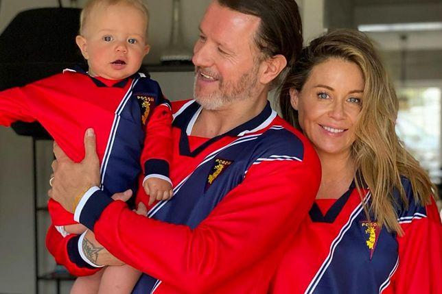 Henryk Majdan z rodzicami