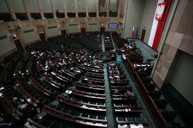 Sejmowa sala posiedzeń