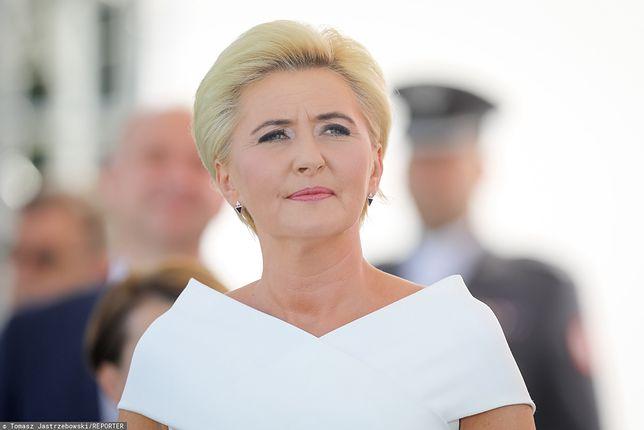 Agata Duda może otrzymać 18 tys. zł brutto pensji - zakłada projekt nowej ustawy