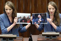 """""""Twarz nienawiści i twarz patriotyzmu"""". Posłanka pokazała w Sejmie dwa zdjęcia"""