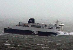Zderzenie statku cargo i barki na kanale La Manche, ewakuacja załogi