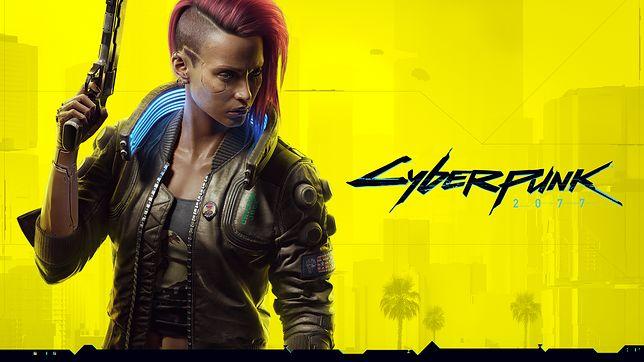 Nowa wersja głównej grafiki promocyjnej Cyberpunka 2077