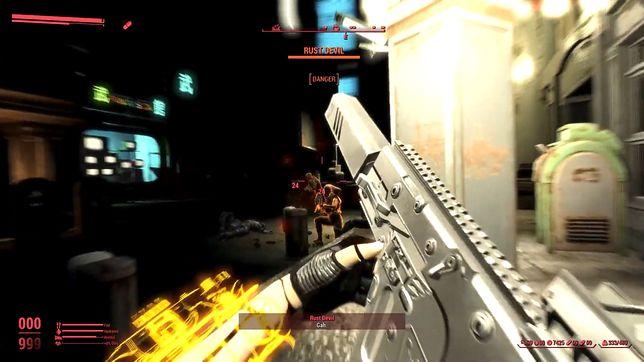 Fallouta 4 można przemienić w grę pokroju Cyberpunka 2077