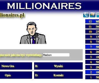 Darmowa gra Milionerzy. Sprawdź swoją wiedzę