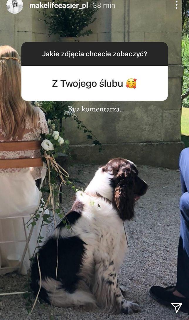 Zdjęcie ze ślubu Kasi Tusk