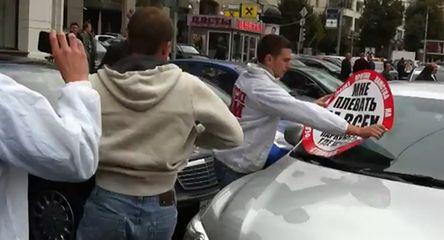 """""""Stop-cham"""": brawurowa akcja w Rosji"""