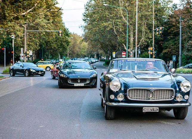 Światowy zlot Maserati