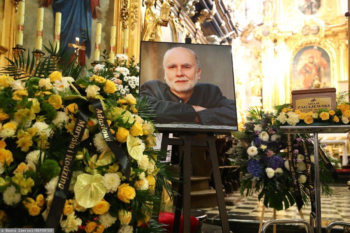 Uroczystości pogrzebowe Adama Zagajewskiego w Krakowie