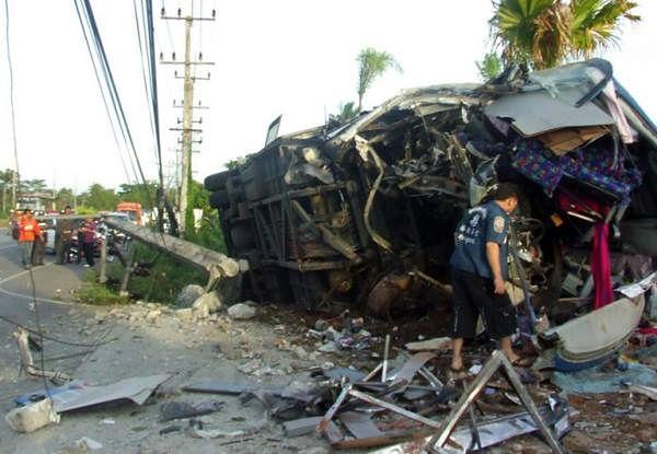 W ubiegłym roku w wypadkach drogowych w Tajlandii zginęło ponad 8600 osób