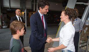 Wyjątkowy gość w stolicy. Premier Kanady z wizytą w CNK