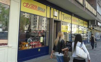 Tanioch - tajemniczy sklep sieci Społem