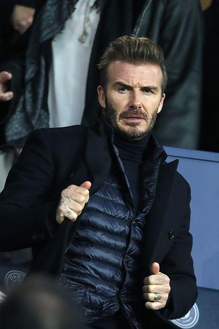 David Beckham starzeje sięz klasą. Zdjęcia z rodzinnej soboty