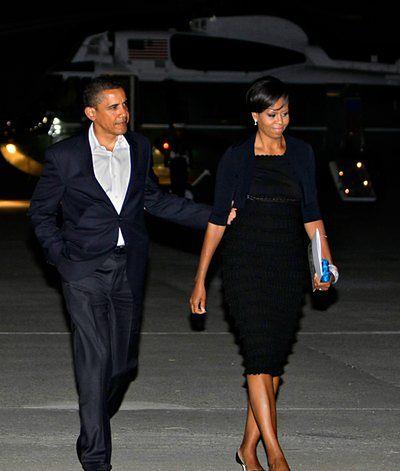 Obamowie pojechali na randkę
