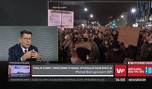"""Strajk kobiet. Michał Boni o postawie rządzących. """"Jest gorzej niż w PRL"""""""
