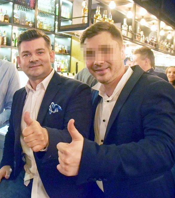 Zenek Martyniuk ochrzcił wnuczkę. Przed uroczystością wybrał się z synem na zakupy