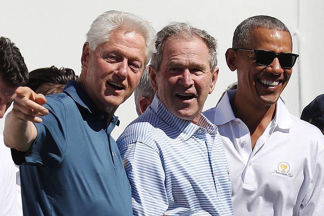 USA. Byli prezydenci: Bill Clinton, George W. Bush oraz Barack Obama zapowiedzieli, że zaszczepią się przeciwko COVID-19
