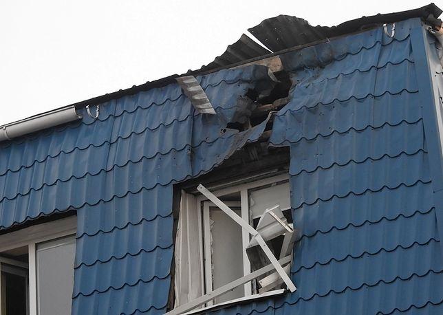 Ukraiński MSZ: ostrzał polskiego konsulatu bez precedensu
