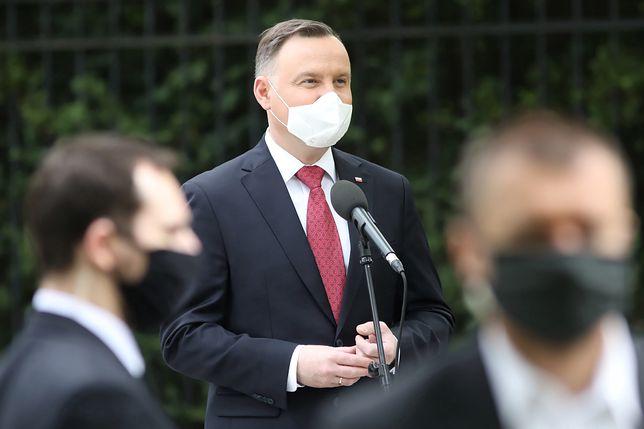 Prezydent Andrzej Duda zabrał głos