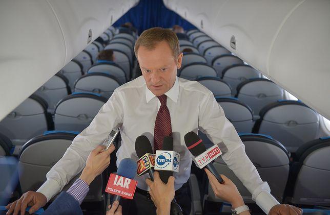 Donald Tusk jak Marek Kuchciński? Dziennikarz wyjaśnia