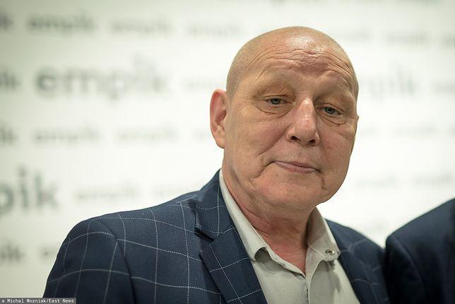 Krzysztof Jackowski ożenił się w 2014 roku