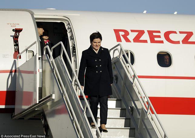 Premier Polski z wizytą u premier Wielkiej Brytanii