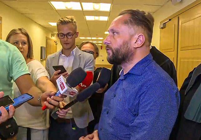 Kamil Durczok spowodował wypadek na trasie A1 w Piotrkowie Trybunalskim