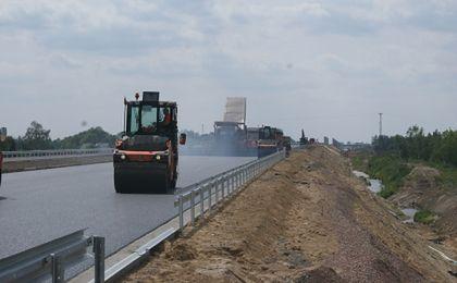 Autostradą A1 z Gdańska do Łodzi prawdopodobnie przed długim weekendem