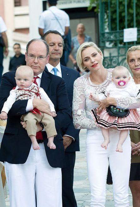 Księżna Charlene, książę Albert