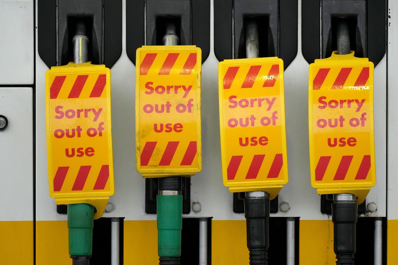 Kryzys w Wielkiej Brytanii. Brakuje kierowców, półki świecą pustkami