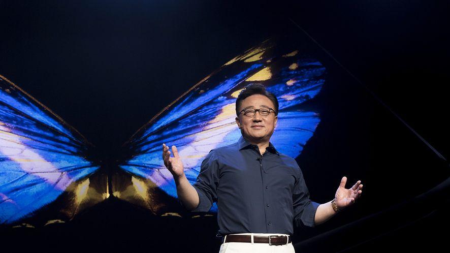 DJ Koh, prezes Samsunga. fot. Samsung