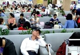 Z powodu tajfunu odwołano loty
