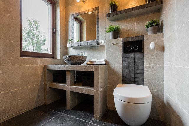 Łazienka lśniąca czystością