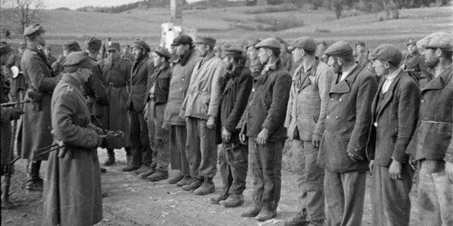 Oddział UPA zatrzymany przez LWP w Bieszczadach, 1946 r.