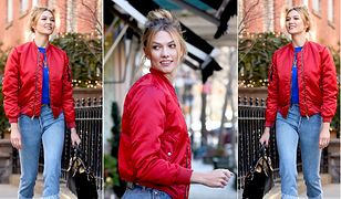 LOOK OF THE DAY: Karlie Kloss w nowojorskim stylu