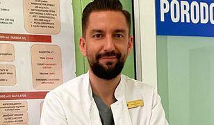 Doktor Wojciech Falęcki to jeden z najpopularniejszych lekarzy na Instagramie