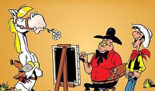 """""""Lucky Luke. Artysta malarz"""": Wszystkie kolory Dzikiego Zachodu - RECENZJA"""