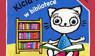 Kicia Kocia w bibliotece