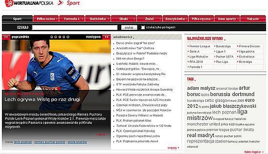 Wirtualna Polska ma nowy serwis sportowy