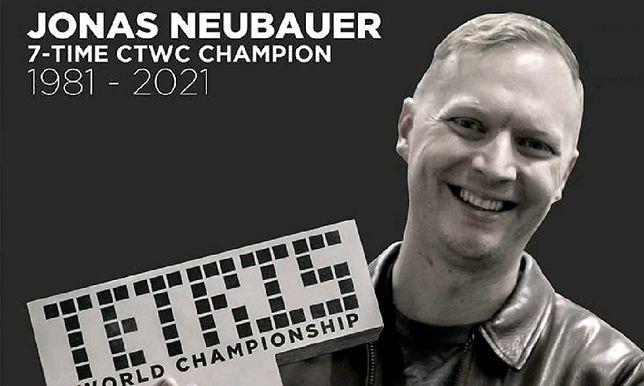 Zmarł Jonas Neubauer. Siedmiokrotny mistrz świata w Tetrisie miał zaledwie 39 lat