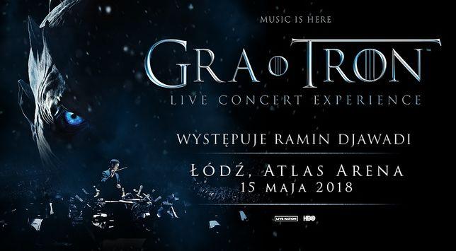 "Plakat promujący ""Gra o Tron Live Concert Experience"""
