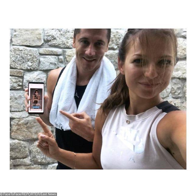 Anna i Robert Lewandowscy nie spoczywają na laurach