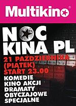 Noc Kina Polskiego w 12 kinach, w całej Polsce już 21 października!