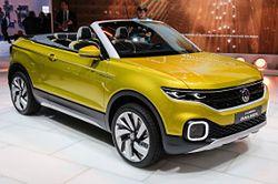 Volkswagen T-Cross Breeze: crossover i kabriolet