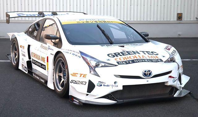 Toyota Prius GT300: hybrydowa wyścigówka